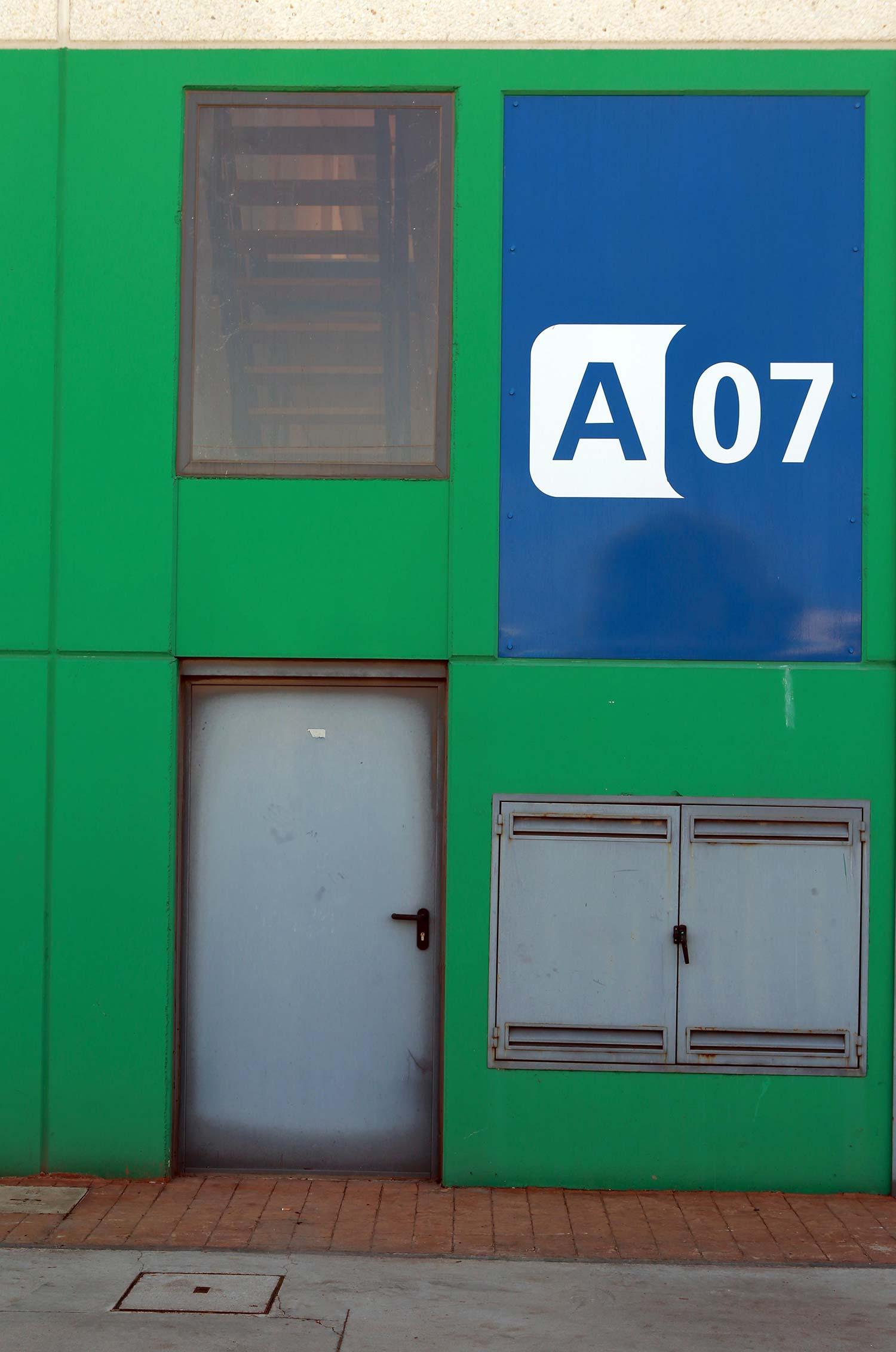 Nave A7 en el P.A.E. Coslada II